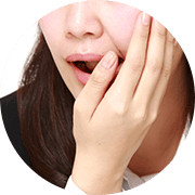 02 歯周病で歯がボロボロ